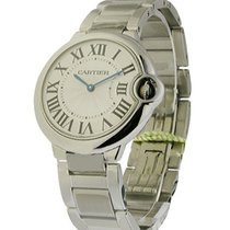Cartier W69011Z4 Ballon Bleu Mid Size in Steel - on Stainless...