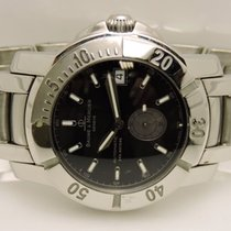 Baume & Mercier 65353 Stainless Steel 38mm Automatic Black...