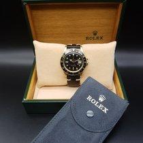 롤렉스 (Rolex) Black GMT-Master 18K gold Ref: 1675