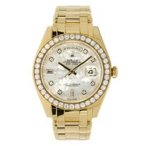 Rolex Day-Date 39mm Yellow Gold Masterpiece Diamond MOP Dial...