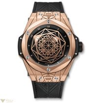 Hublot Big Bang Sang Bleu King Gold Men's Watch