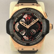 Hublot King Power Roségoud 48mm Geen cijfers Nederland, Kerkrade