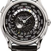 Patek Philippe World Time White gold 39.8mm Black