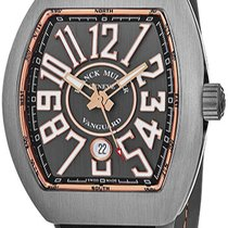 Franck Muller Titanium Automatic Grey 44mm new Vanguard