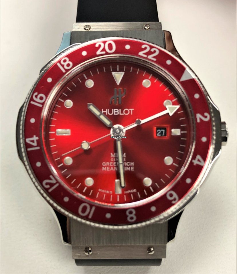 cb7402fea47 Hublot Greenwich Meantime for Rp. 53