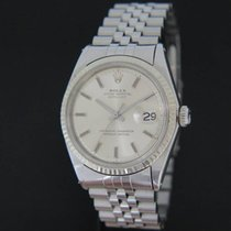 Rolex 36mm Automatisch 1970 tweedehands Datejust (Submodel) Zilver