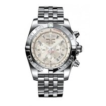 Breitling Chronomat 44 nuevo Automático Cronógrafo Reloj con estuche y documentos originales AB011011/G684