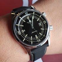 Longines Legend Diver L3.774.4.50.0 LONGINES HERITAGE DIVER Legend Nero Sub pelle 2020 nouveau
