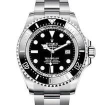 Rolex Sea-Dweller Deepsea Steel 44mm Black No numerals United Kingdom