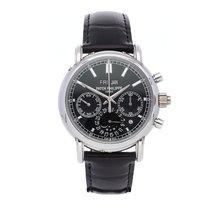 Patek Philippe Perpetual Calendar Chronograph Platinum 40.2mm Black No numerals
