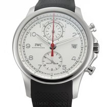 IWC Portuguese Yacht Club Chronograph Steel 44mm Silver Arabic numerals United States of America, New York, New York