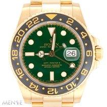 Rolex 116718LN Gelbgold GMT-Master II 40mm gebraucht