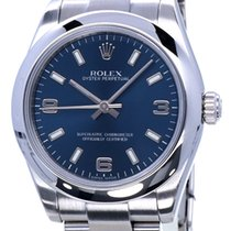 Rolex Oyster Perpetual 31 Staal 31mm Blauw Arabisch Nederland, Katwijk aan zee