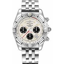 Breitling Chronomat 41 Acero 41mm Plata Sin cifras