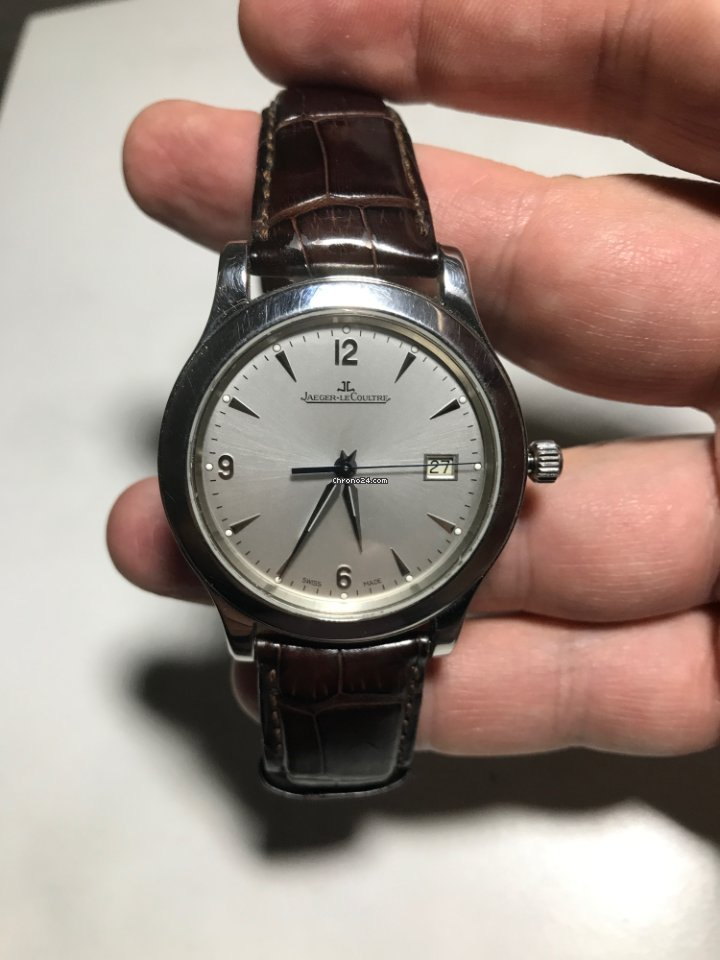 Jaeger-LeCoultre Master Control Date Q1548420 2010 pre-owned