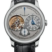 F.P.Journe Souveraine Platinum 40mm Grey Arabic numerals