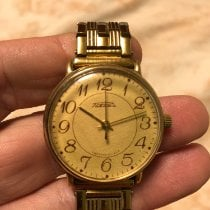 Scalfaro Oro amarillo 39mm Cuerda manual 2609.HA usados