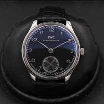 IWC Portuguese Hand-Wound Steel 44mm Black United States of America, California, Huntington Beach