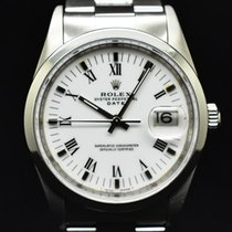 Rolex Oyster Perpetual Date Сталь 34mm Белый Без цифр