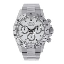 Rolex DAYTONA Stainless Steel White Dial Watch 116520