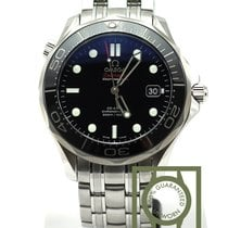 Omega Seamaster Diver 300m co-axial 41mm steel black dial NEW