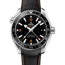 Omega Seamaster Planet Ocean 600M Omega Co-axial GMT 43.5 mm