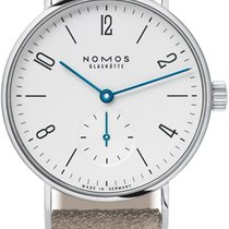 NOMOS Tangente 33 Steel 32.8mm White United States of America, New York, Airmont