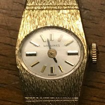 ロンジン (Longines) Longines Ladies 14K Gold Plate - Movement...