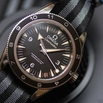 Omega Seamaster 300 pre-owned 41mm Black