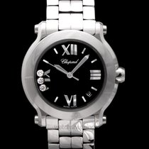 Chopard Happy Sport Steel 36mm Black United States of America, California, San Mateo