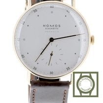 NOMOS Metro Neomatik Or rose 38.5mm Blanc