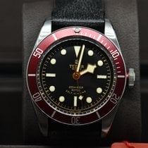 Tudor Black Bay Red, LC100 Fullset, Garantie