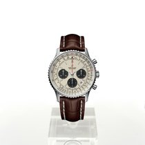Breitling Navitimer 1 B01 Chronograph 43 Stal 43mm Srebrny