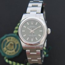 Rolex Oyster Perpetual NEW Green Dial