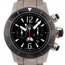 Jaeger-LeCoultre Master Compressor Diving Chronograph GMT Navy SEALs Titanio 46mm Negro