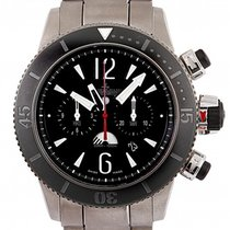 Jaeger-LeCoultre Master Compressor Diving Chronograph GMT Navy SEALs usados 46mm Negro Fecha Acero