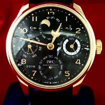 IWC pre-owned Automatic Black Sapphire Glass 3 ATM