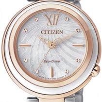 Citizen Steel EM0335-51D new