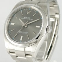 Rolex Oyster Perpetual 39 Steel 39mm Grey