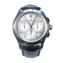 Jaeger-LeCoultre Master Chronograph Steel 40mm Silver No numerals United States of America, California, Los Angeles