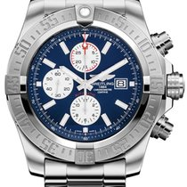 Breitling Super Avenger II new 2019 Automatic Chronograph Watch with original box and original papers A1337111-C871-168A