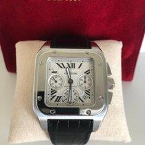 Cartier 2740 Zeljezo 2007 Santos 100 41mm rabljen