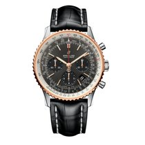 Breitling UB0121211F1P1 Gold/Steel Navitimer 1 B01 Chronograph 43 43mm new
