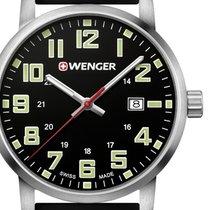 Wenger Steel 42mm Quartz 01.1641.110 new