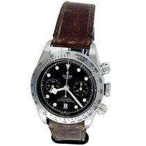 Tudor Black Bay Chrono Steel 41mm Black