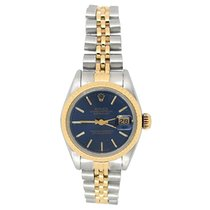 Rolex Lady-Datejust Gold/Steel 26mm Blue United States of America, California, Los Angeles
