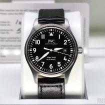 萬國 Pilot Mark 二手 40mm 黑色 日期 皮