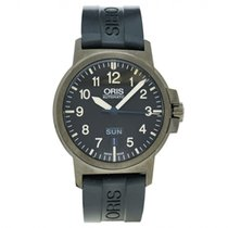 Oris BC3 Steel 42mm Grey Arabic numerals United States of America, Massachusetts, Andover