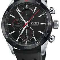 Oris 01 774 7661 4424-07 4 22 25FC Steel Artix GT 44mm new