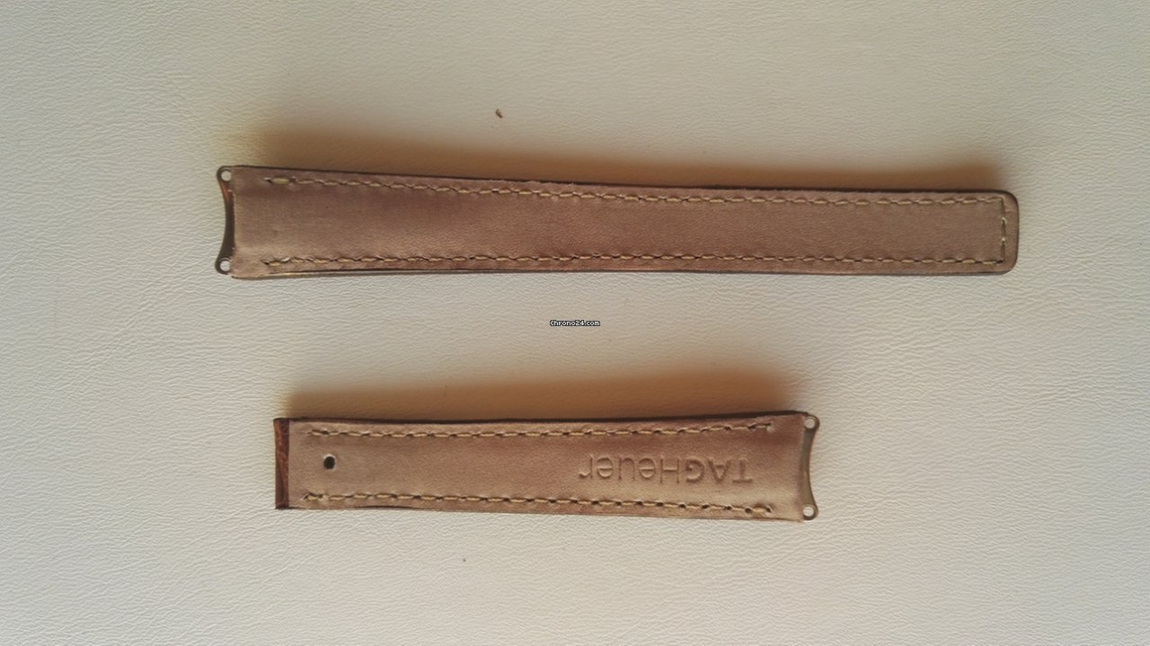 5536af8e766b6 TAG Heuer BROWN CROC STRAP LADIES 6000 SERIES 15MM for  137 for sale from a  Seller on Chrono24